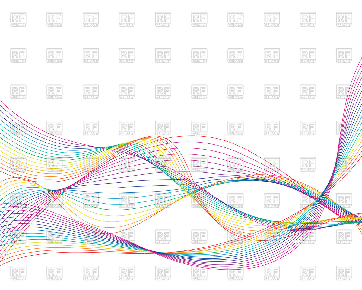 1200x960 Colourful Wavy Lines Background Vector Image Vector Artwork Of