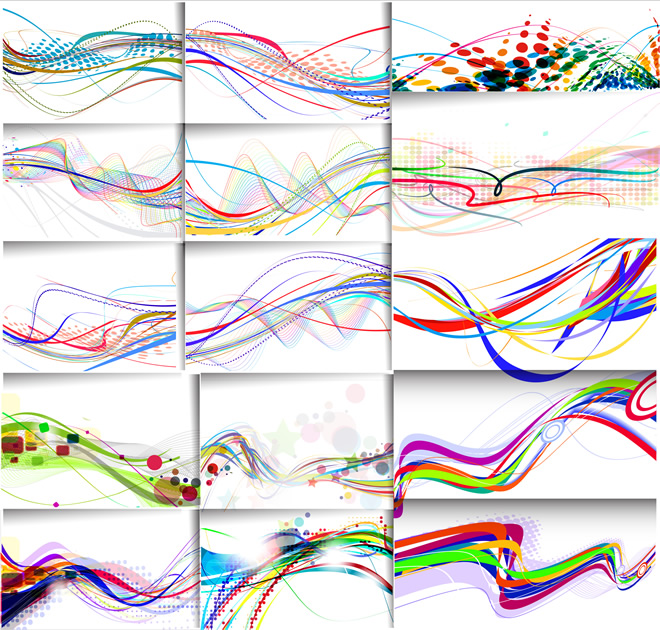660x630 Abstract Lines Background 3 Free Vector Graphic Download