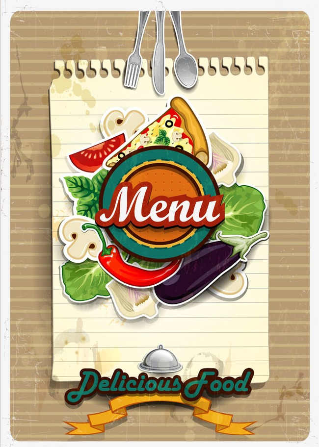 650x912 Menu Design Vector, Menu, Front Cover, Creative Png And Vector For