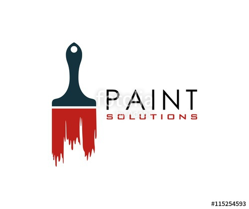 500x420 Paint Brush Logo Stock Image And Royalty Free Vector Files On