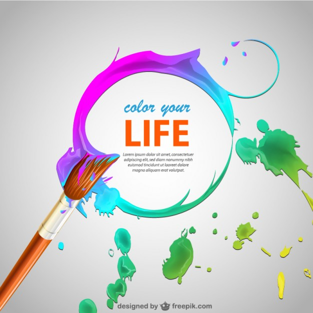 626x626 Paint Brush Strokes And Brush Background Vector Free Download