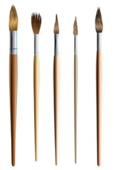 225x336 Paint Brushes Vector Free Vector 4vector