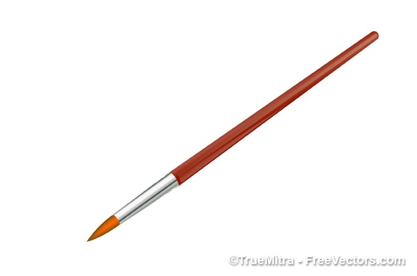 600x397 Download Free Vector Paintbrush Vector Illustration