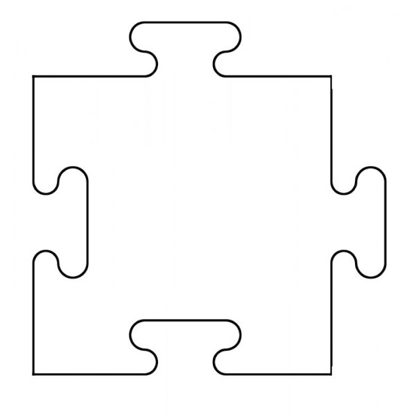 600x600 Puzzle Template Vector Puzzle Piece Template Printable Free