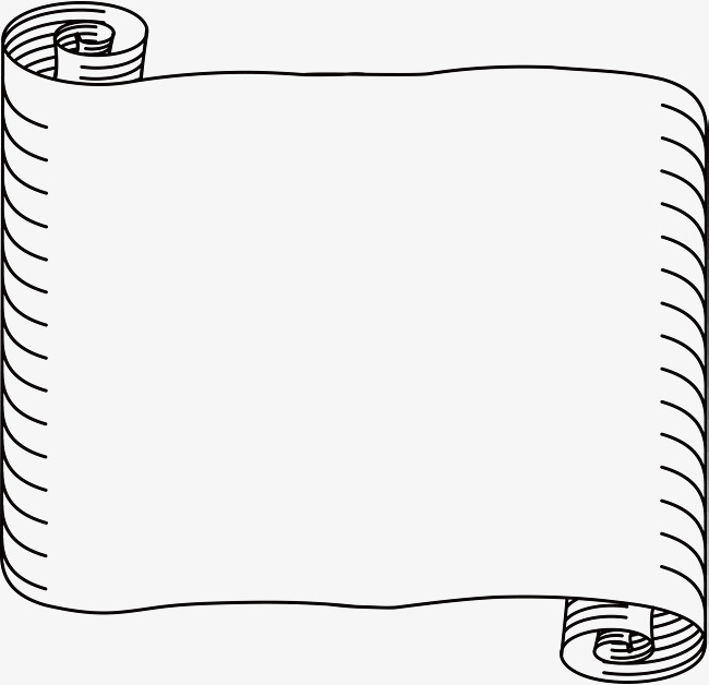 650x628 Hand Drawn Scroll Vector, Hand Vector, Scroll Vector, Reel Ribbon
