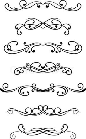 296x480 Simple Scroll Designs Could Use A Scroll Patterns Swirls