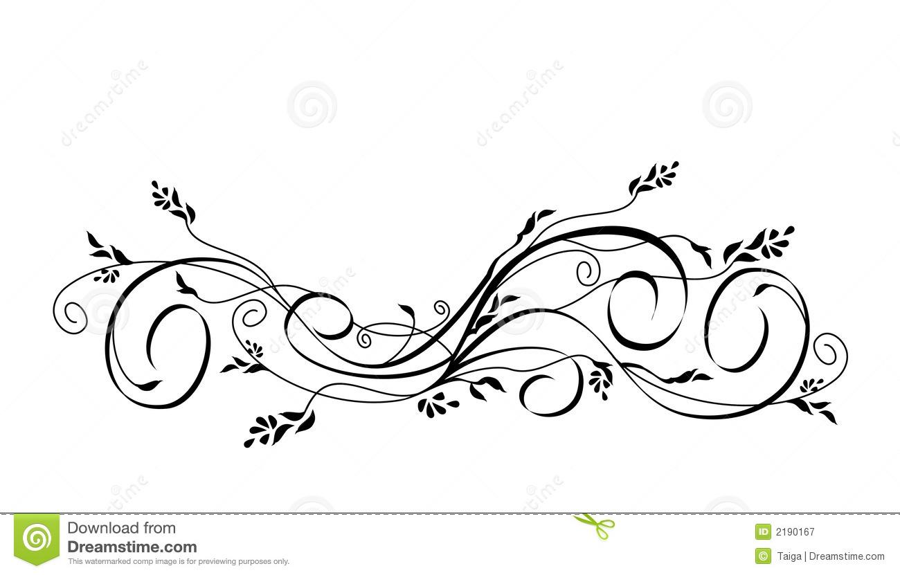 1300x831 Purple Flower Clipart Scroll