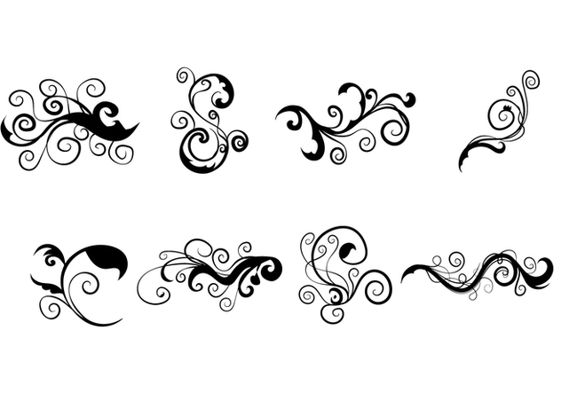 632x443 Scrollwork Vector Free Vector Download 339359 Cannypic