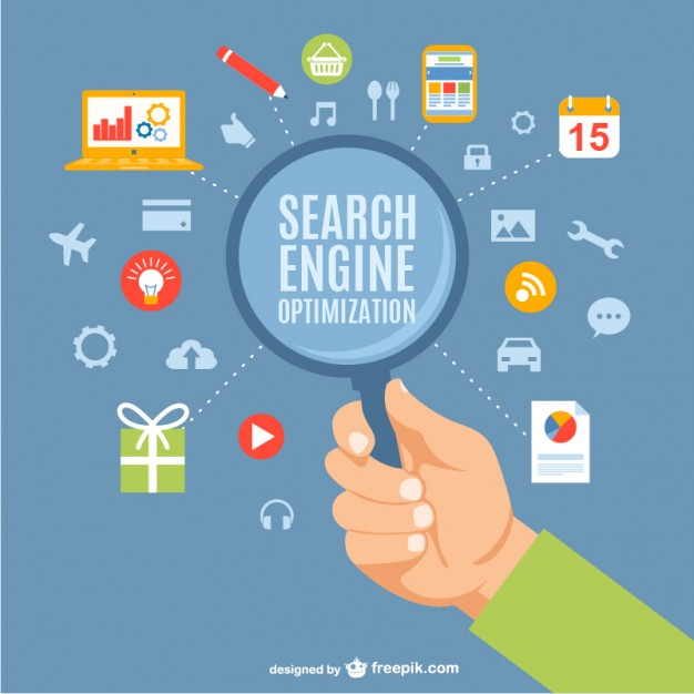 626x626 Search Engine Optimization Concept Vector Free Download