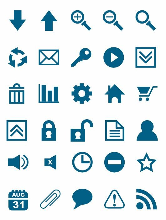 530x701 Free Vector Icon Set Free Icon All Free Web Resources For