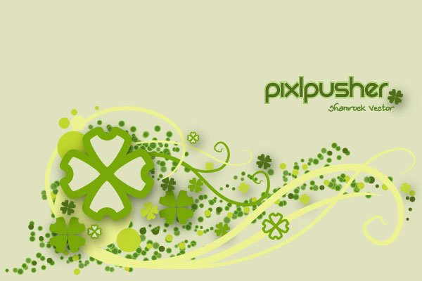 600x400 Free Free Vector Shamrock Background Psd Files, Vectors Amp Graphics