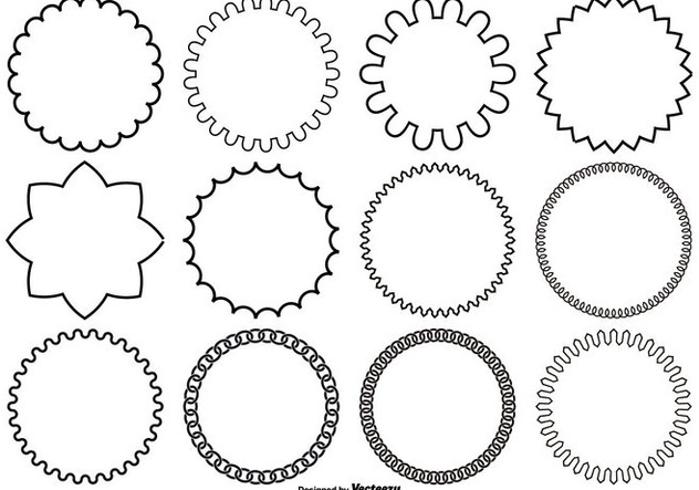 632x443 Assorted Circle Vector Shapes Free Vector Download 362253 Cannypic