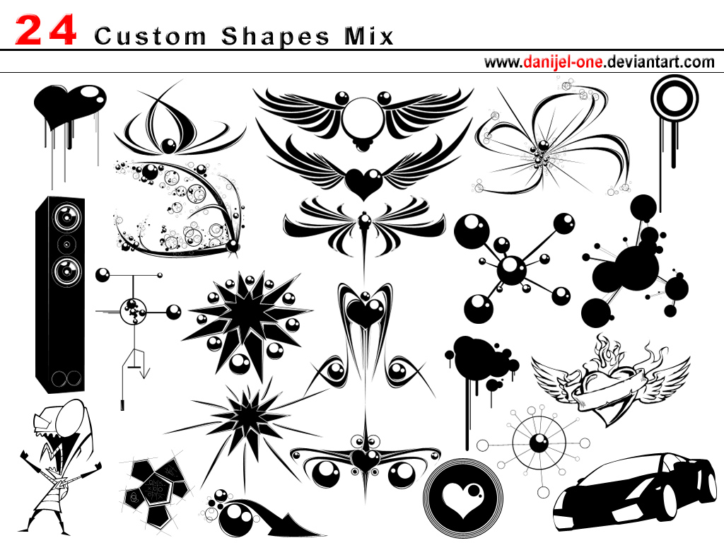 Free Vector Shapes For Photoshop