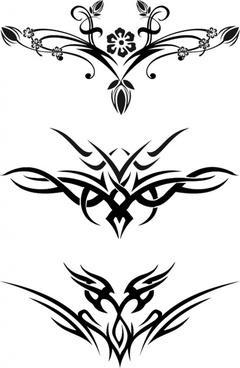 240x368 Free Tattoo Stencil Designs Free Vector Download (701 Free Vector