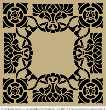 356x368 Gothic Stencils Free Vector Download (201 Free Vector) For