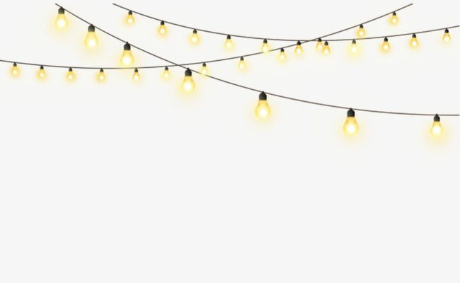 Free Vector String Lights At Getdrawings Com Free For