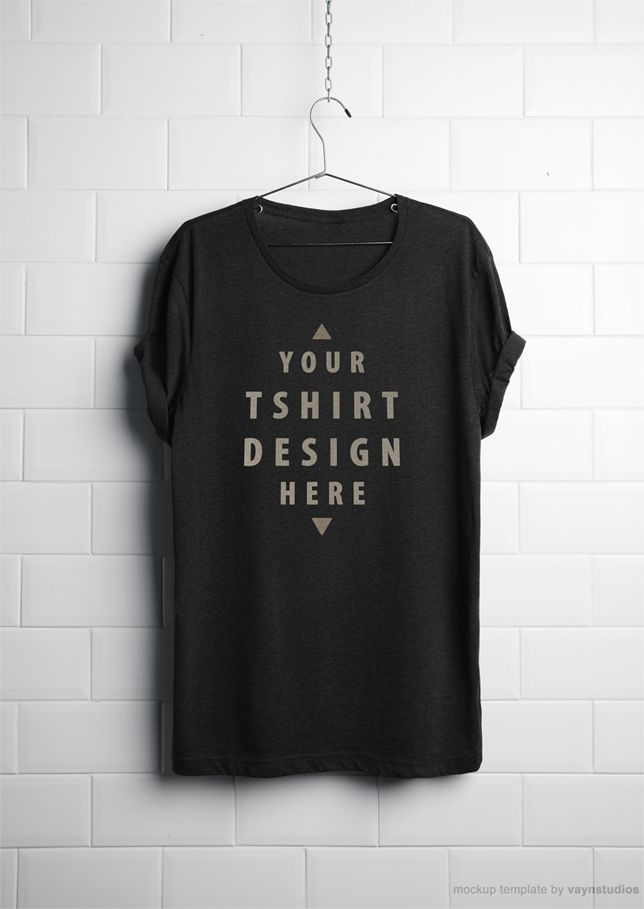 Free Vector Tshirt Mockup