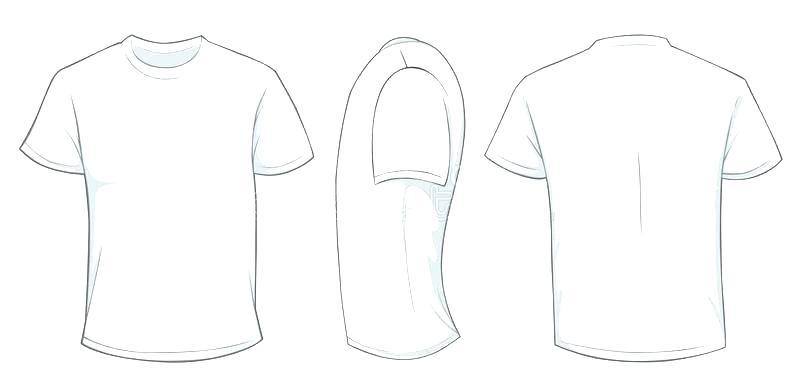 Free Vector Tshirt Mockup At Getdrawings Free Download