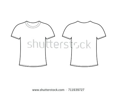 T Shirt Poshop Template | Free Vector Tshirt Template At Getdrawings Com Free For Personal