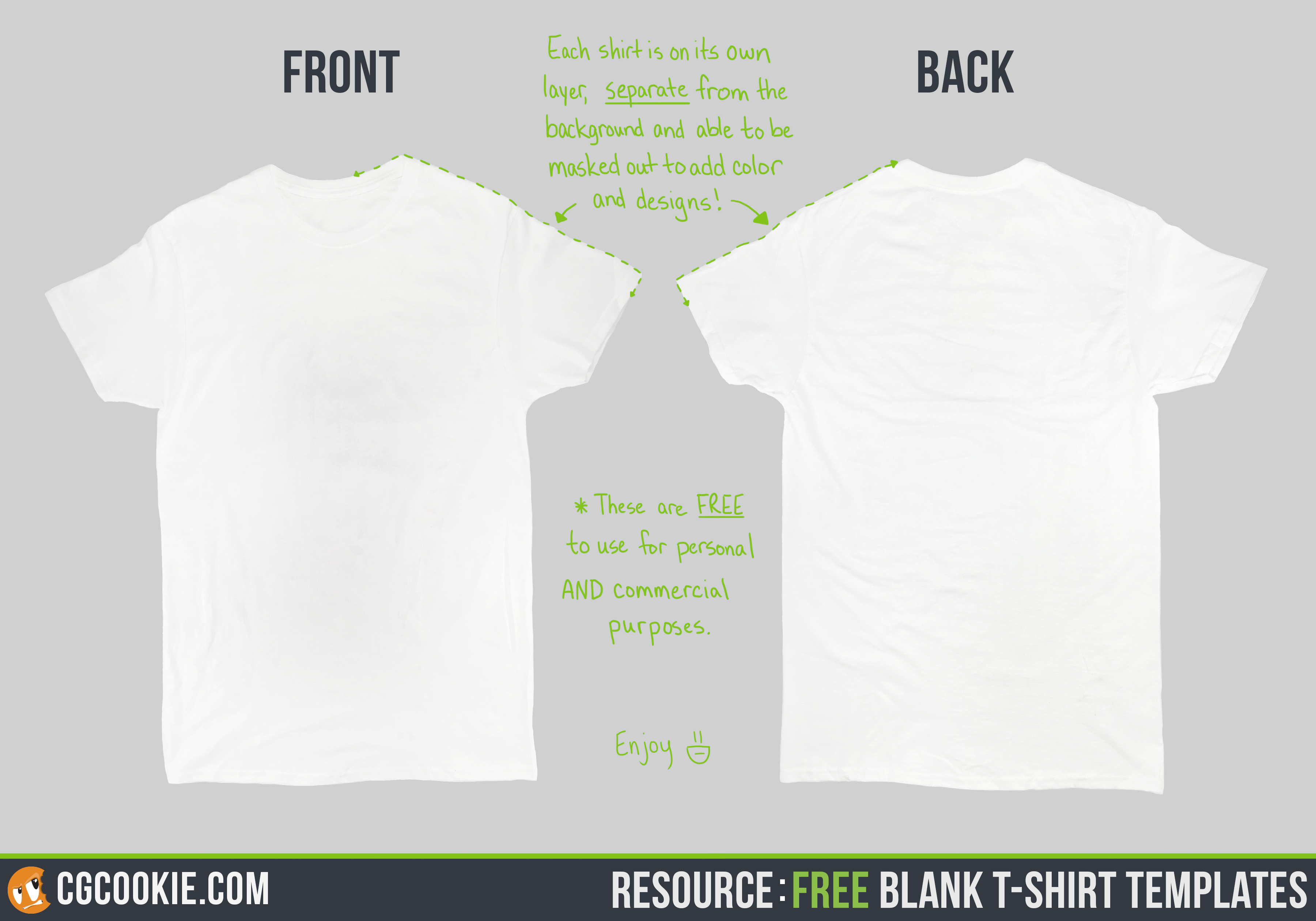 Free Vector Tshirt Template At Getdrawings Free For Personal
