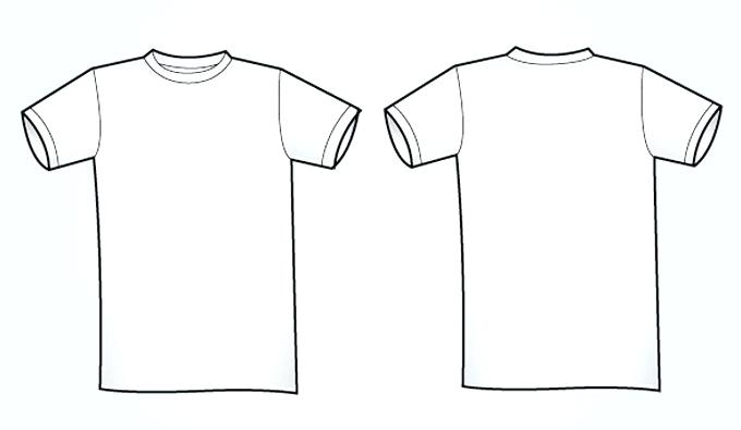 Free Vector Tshirt Template At Getdrawings Com Free For Personal