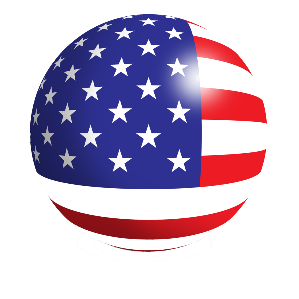 1024x1024 Icon American Us Flag Vector