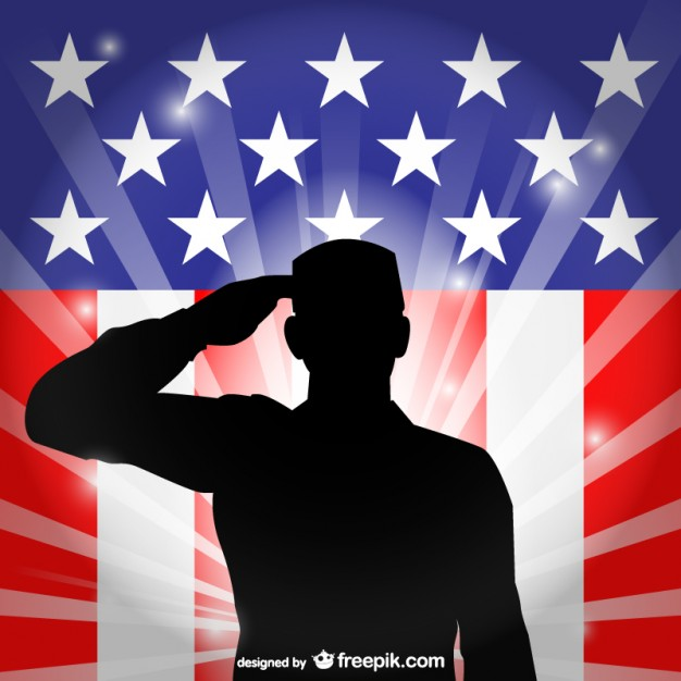 626x626 United States Flag Salute Vector Vector Free Download