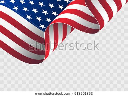 450x341 Us Flag Black And White Vector Flag Themed Ukelele Vector Set