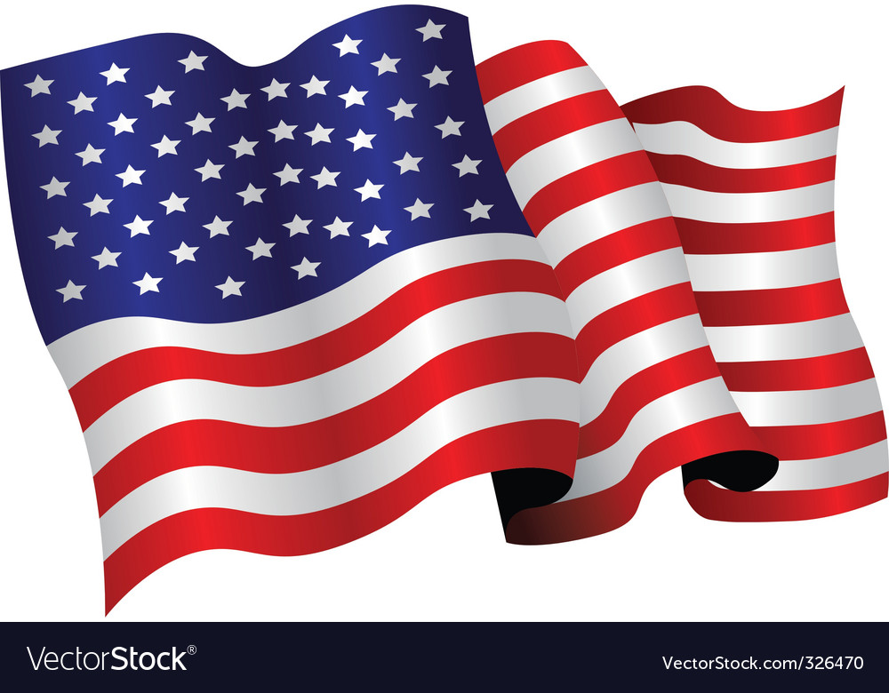 1000x780 Us Flag Pic American Flag Royalty Free Vector Image Vectorstock