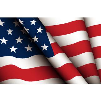 324x324 Us Flag Vector Clipart