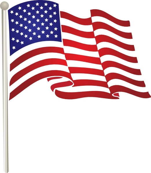 522x597 Usflag Clip Art Free Vector In Open Office Drawing Svg ( .svg