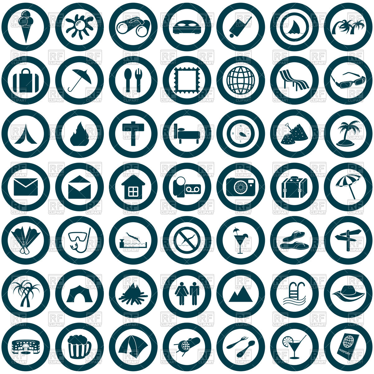 1200x1200 Travel Web Icons Vector Image Vector Artwork Of Travel Angelp