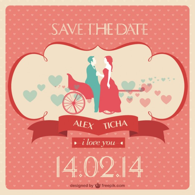 626x626 Free Wedding Invitation Vector Vector Free Vector Download In