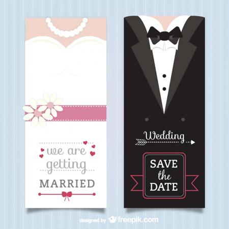 450x450 40 Free Vector Wedding Invitation Templates By Saltaalavista On