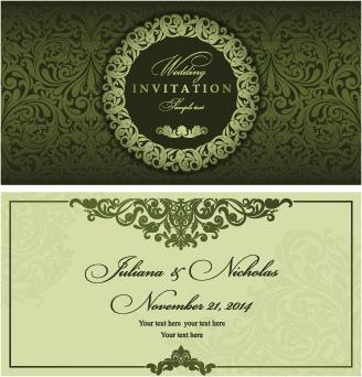 328x342 Wedding Invitation Vector Free Vector Download (2,757 Free Vector