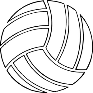 Free Volleyball Vector Art