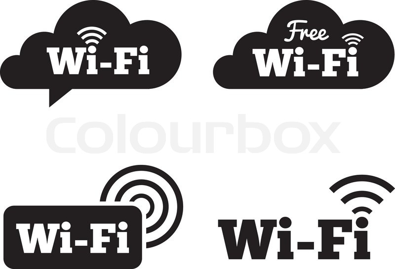 800x545 Wifi Icons. Wifi Symbols. Wireless Network Cloud Icons. Wifi Zone
