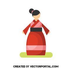 Free Woman Vector