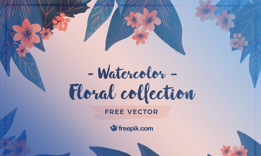 900x538 Bring Spring To Life With These Watercolor Flower Vectors From Freepik