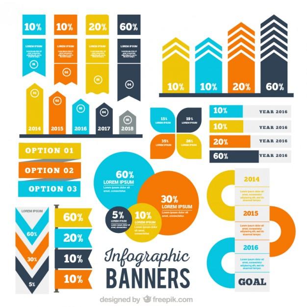 626x626 Flow Chart Freepik Best Of Infgraphic Banner Set Vector Flowchart