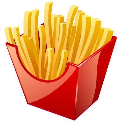 French Fry Vector