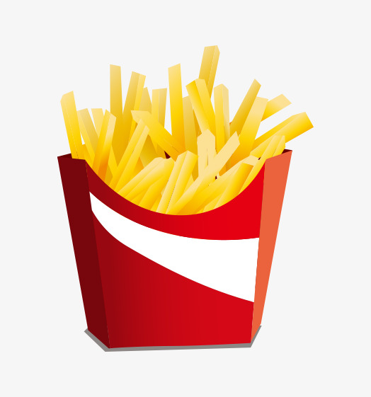 524x561 French Fries Vector Material, Red, Vector, French Fries Png And