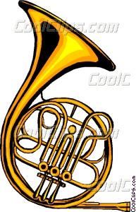 193x300 French Horn Vector Clip Art