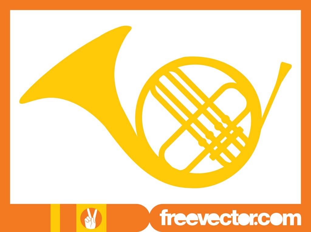 1024x765 French Horn Vector Vector Art Amp Graphics
