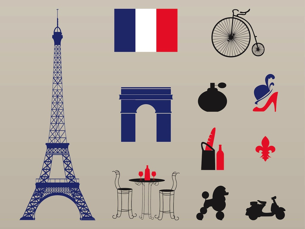 1024x768 French Icons