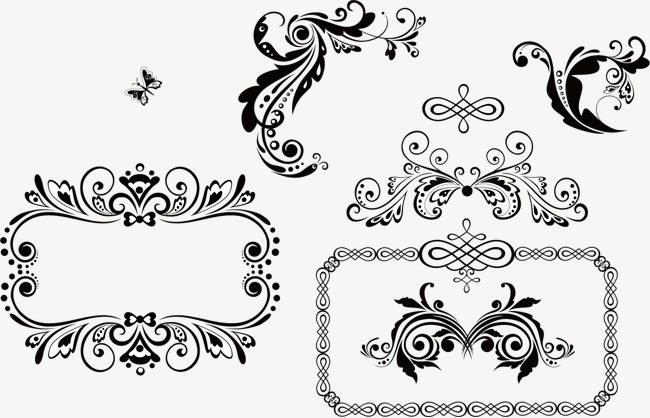 650x418 French Pattern Vector, Euporean Pattern, French Pattern Png And