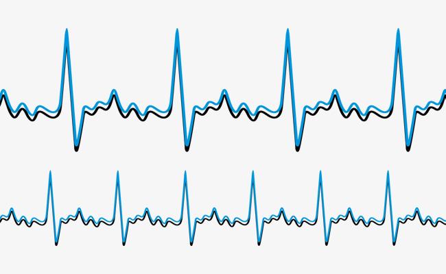650x400 Frequency Like Heart Rate Chart, Heart Vector, Chart Vector, Heart