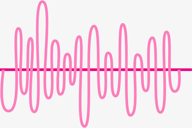 650x434 Acoustic Frequency Curve, Curve Vector, Pink, Acoustic Line Png
