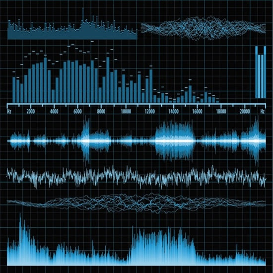 550x550 Band Music Audio Sound Frequency Vector Free Vector In