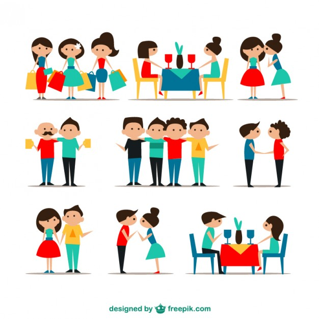 626x626 Friendship Icons Vector Free Download